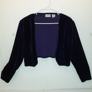 Fashion Bug Velvet Like Long Sleeve Top
